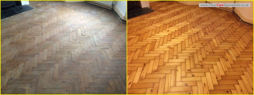 Pitch Pine Floor Sanding in Market Harborough, Leicestershire - www.FloorCareSpecialists.co.uk